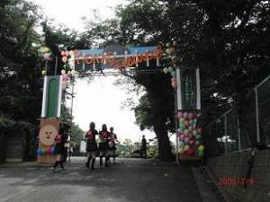 校門の風景